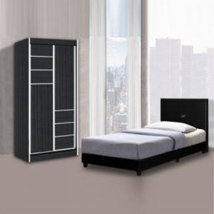 TYZ2633 TYZ DESIGN 2.5×6 Bedroom + Wardrobe Set
