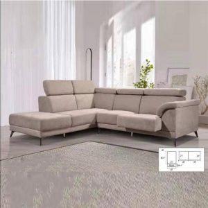 M1295 VESAREI 5 Seater L Shaped Sofa