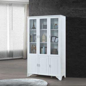 MIYA32 RELAX MDF Material Display Cabinet-White