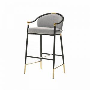 IZABELA GLY203BCGY – Cushion Seat Stool