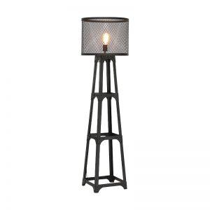 IZABELA ML10096 – Black Steel Floor Lamp