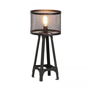 IZABELA MT10106 – Black Steel Floor Lamp
