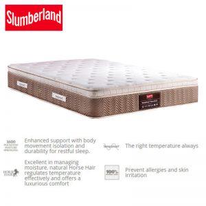 Slumberland TempSmart Warwick II – 12″ SuperB Temperature Regulation
