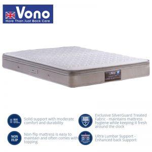 Vono SpinePro 800 – 10″ Interlock Spring Mattress