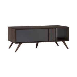 Blackburn Coffee Table –  Columbia Colour, Dark Grey Colour Drawer