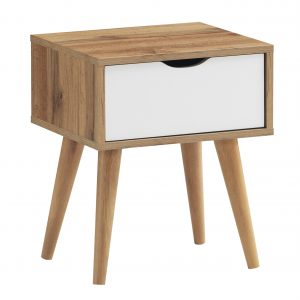 ALFORD 1 Drawer Side Table