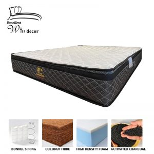 Excellent Win Decor Golden Rod – 10″ Activated Charcoal Mattress
