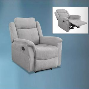 WLS RC610 – 1 Seater Micro Fabric With Recliner System Sofa